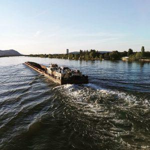 #cargo #vessel #donauinsel #wien #vienna #österreich #austria Donauinsel