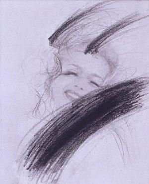 Arnulf Rainer's »Mythos Marilyn - Gehörnte II« • Jeden Tag präsentieren wir im »Gallery Diary« ausgewählte Ausstellungen....