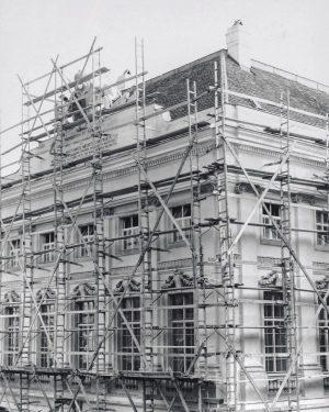 Nicht nur die Wachsmodelle waren in den frühen 1960er Jahren in einem bedürftigen Zustand. Das ganze Josephinum...