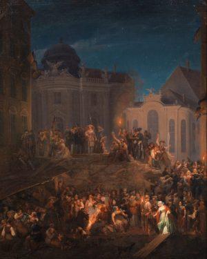 #onthisday ✨ Heute Nacht jährt sich ein historisches Ereignis in Wien: die Barrikade ...