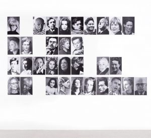 "Today, we want to show you another artwork from the #mumokCollection: the ""Personenalphabet"" ..."