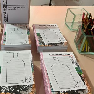 Kunsthalle Wien kommuniziert wieder oer Realraum - und per Flaschenpost... #MQErwachen Kunsthalle Wien