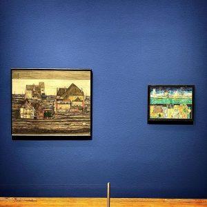 """""""Hundertwasser – Schiele"""" at Vienna's Leopold Museum."""
