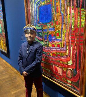 Leopold Museum. Hundertwasser❤️ Amazing colourful world 💚! @leopold_museum Леопольд Музей. Выставка полотен Хундертвассера. Уникальный красочный мир! Leopold...