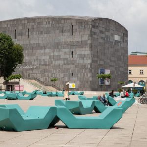 #MQ #MuseumsQuartier #Vienna main #institutions & #museums #reopening today ! #kunsthalle, #freiraum #azw ...