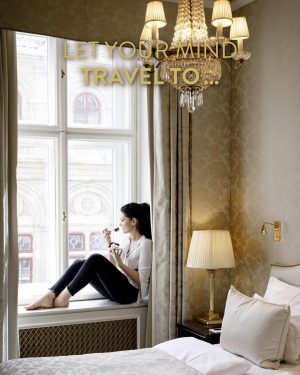 Let your mind travel to... Hotel Sacher Wien and take some time out ...