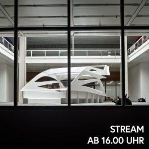 Heute um 16 Uhr nimmt euch Kunstexperte Markus Hübl mit in das Cockpit-Chassis ...