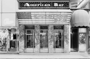 Enjoying a cocktail in the American Bar 🍸🍹by Adolf Loos? You will be able to do so...