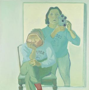 #ArtworkOfTheDay:Maria Lassnig, Double Self-Portrait with Camera, 1972 The painter Maria Lassnig could be ...