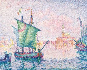Wanderlust? ☀️🎨⛵️⁠ Travel with art: Signac takes you on a short trip to Venice.⁠ Discover the original...