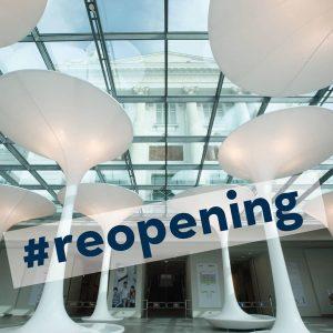 🎈NEWS: TMW#reopening 🥳⠀⠀⠀⠀⠀⠀⠀⠀⠀⠀ Wir freuen uns, unsere BesucherInnen ab 30.05.2020 wieder empfangen zu ...