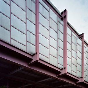 es geht weiter: 20er Haus von Karl Schwanzer. Hier ein Fassadendetail, 20er Haus ...