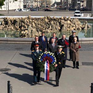 🌠По случаю 75-й годовщины Победы в Великой Отечественной войне Посольством были организованы церемонии возложения венков к памятникам...