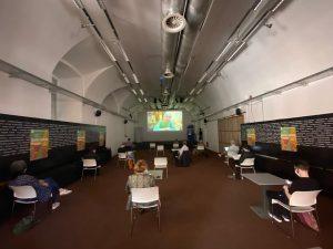 Ungewohntes #Raumgefühl #social #distancing #abstand - Meine erste #Pressekonferenz seit #lockdown im #architekturzentrum: ...