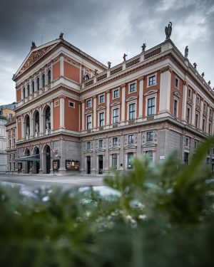 Vienna's wonderful Musikverein is a building along the Ringstraße I haven't really seen a lot here on...