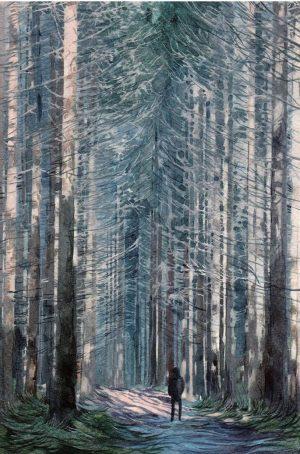 Q21 takeover artist: Szabó Klára Petra @szaboklarapetra Solitude series / watercolour on paper ...