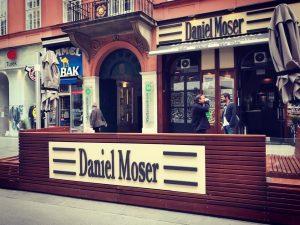 New Garden... Café Daniel Moser