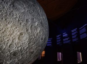 "From Wednesday, May 20, 2020, you can visit the special exhibition ""Our Moon. ..."