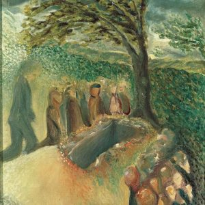 Object #65 | Arnold Schönberg: Burial of Gustav Mahler Oil on canvas, 1911 ...