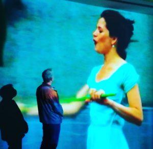 Watching Pipilotti Rist: 'Ever is Over All', 1997 #pipilottirist #kunstforumwien #contemporary #contemporaryart #modernartmuseum ...