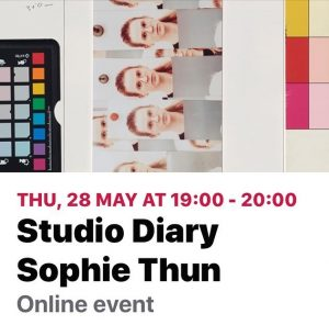 Sophie Thun May 27, 19:00-20:00. .