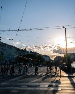 am Schwedenplatz gibt es halt immer was zu fotografieren 🙃