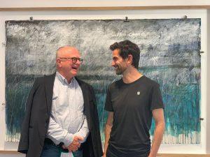 Happy Sunday ☀️ Ernst Hilger & Jakob Kirchmayr Go and see @jakobkirchmayr & @merlinkratky Show Wallnerstraße 3,...