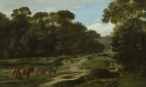 It's Friday, hence time for a short trip – this time into a green landscape. This painting...