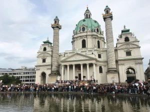 4.6.2020 #blacklivesmatter #vienna Karlsplatz