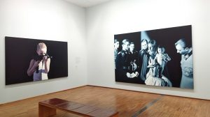 The @albertinamuseum is open to the public again since May 27th. The #GottfriedHelnwein works currently on display...