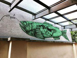 Viennese street art Leopold Museum