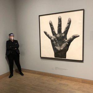 Heute im Museum #vienna #vienna_city #museum #fünf #kunst #coronatime #corona #albertinamodern #kunsttrotztcorona #wien #soistwien