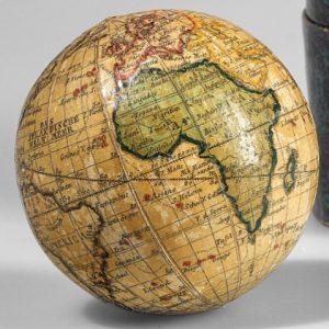 Taschenglobus von Peter Bauer (1783-1847) / pocket globe by Peter Bauer (1783-1847), from our next scientific instruments...