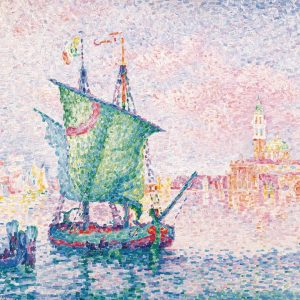 Pixel or oil paint? 🎨🧐💻⁠ Paul Signac's masterpiece not only takes you on a short trip to...