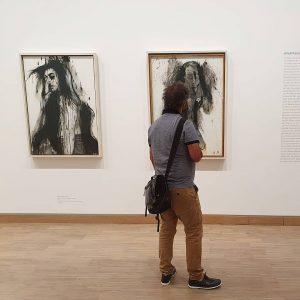 Ein Leben ohne Kunst und geschlossenen Museen ist möglich aber man sagt dann statt leben, vegetieren. #AlbertinaModern...