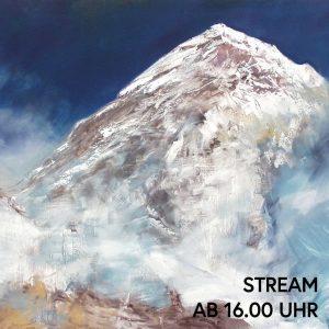 Begleitet unsab 16.00 Uhr via Stream ins Belvedere 21. Wir betrachten ein Gemälde von Herbert Brandl das...