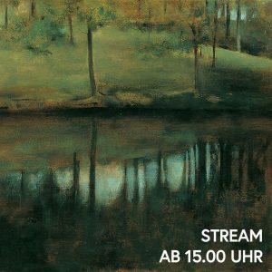 """Stille Wasser sind tief. """"Unbewegtes Wasser"""" lautet der Titel von Fernand Khnopffs Landschaftsgemälde, das den Blick auf..."""