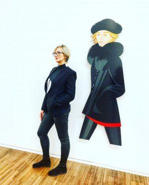 Alex #Katz #popart #modern #realism #art #artist #portraits #albertina #tbs #igersvienna #latergram Albertina ...