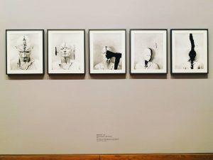 Instawalk - ALBERTINAmodern . Günter Brus: Selbstbemalung II, 1965 . #AlbertinaMuseum #Albertina #albertinamodern #exhibition #museum #emptymuseum #art...