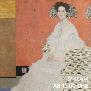 Von ätherischer Schönheit und mit leicht melancholischem Blick stellt Gustav Klimt Fritza Riedler dar. Voll bescheidener Anmut...