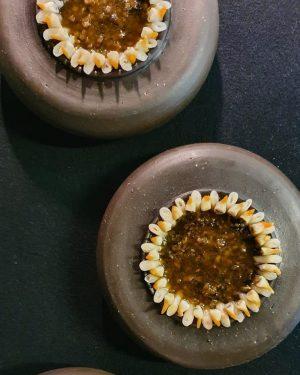 Viennese snails. Cockles. Brown bread broth. #teamkonstantinfilippou #onthemenutonight @michelinguide @gaultmillau_austria @50bestdiscovery @oadtop100 Restaurant Konstantin Filippou