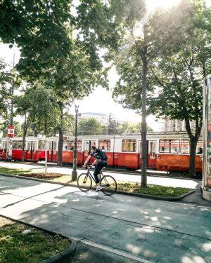 Guten Morgen Wien. 😍 Wir haben uns schlau gemacht und die schönsten Radstrecken der Stadt am Blog...