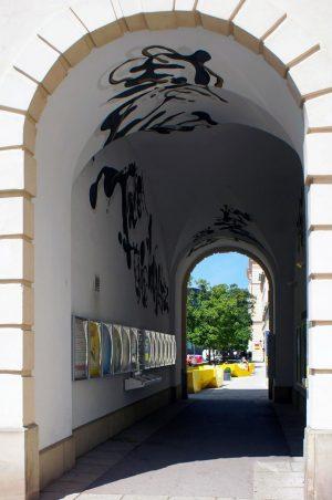 2012_08_15 _Austria_Wien_MuseumsQuartier #museumplatz #viennacityscapes #spittelberg #wienscenery #austriaarchitectures #entrance #tunnel #mq #museumsquartier #viennasights #wienmuseum #wiencityscape #exit #subgate #austria...