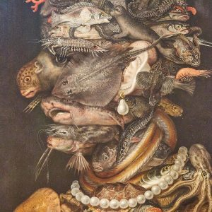 Water (1566) - GIUSEPPE ARCIMBOLDO - Some painters from not this world for sure -my opinion. Kunsthistorisches...