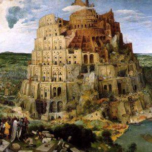 Torre de Babel; Pieter Bruegel, o velho - 1563 Kunsthistorisches Museum Vienna