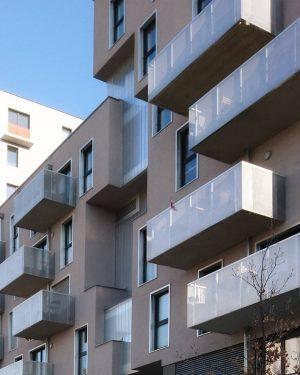 Fassadengestaltung, Sonnwendviertel #architecture #architektur #wien #österreich #vienna #austria #igersvienna #vienna_austria #viennanow #oesterreichbild_azw #youshouldbettereatarchitecture ...