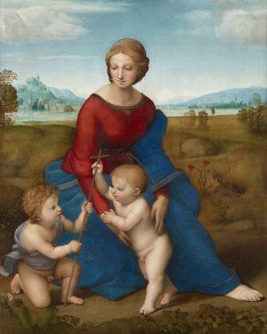 Madonna del prado Esta Virgen con el Niño y San Juan, conocida como la Virgen del prado...