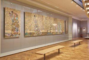 👑💛 Ein Highlight unserer Schausammlung Wien 1900 sind die Entwurfszeichnungen Gustav Klimts für das Palais Stoclet. Klimt...
