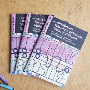 🎉Out now - unser Booklet mit Ideen für Kinderworkshops!🎉  Was machen Kunstvermittler*innen, ...