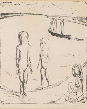 Happy Birthday Erich Heckel! 💙 ⠀⠀⠀⠀⠀⠀⠀⠀⠀ Heckel was born in 1883 in Germany. His work was part...